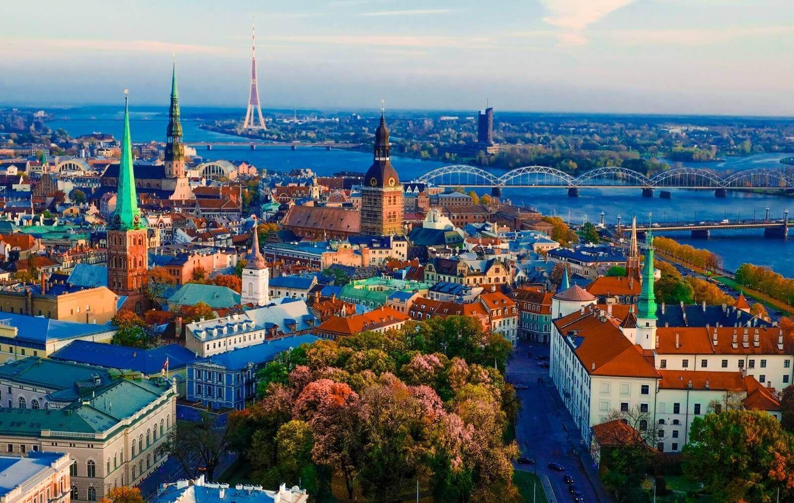 Trasporto per Lettonia