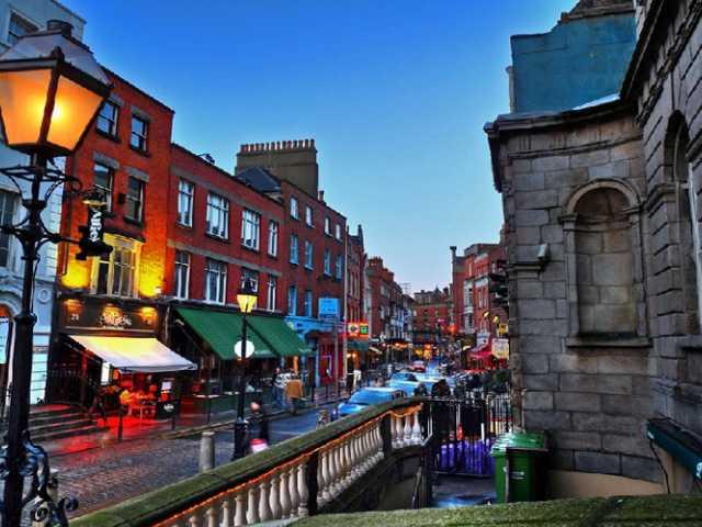 Trasporto per Irlanda