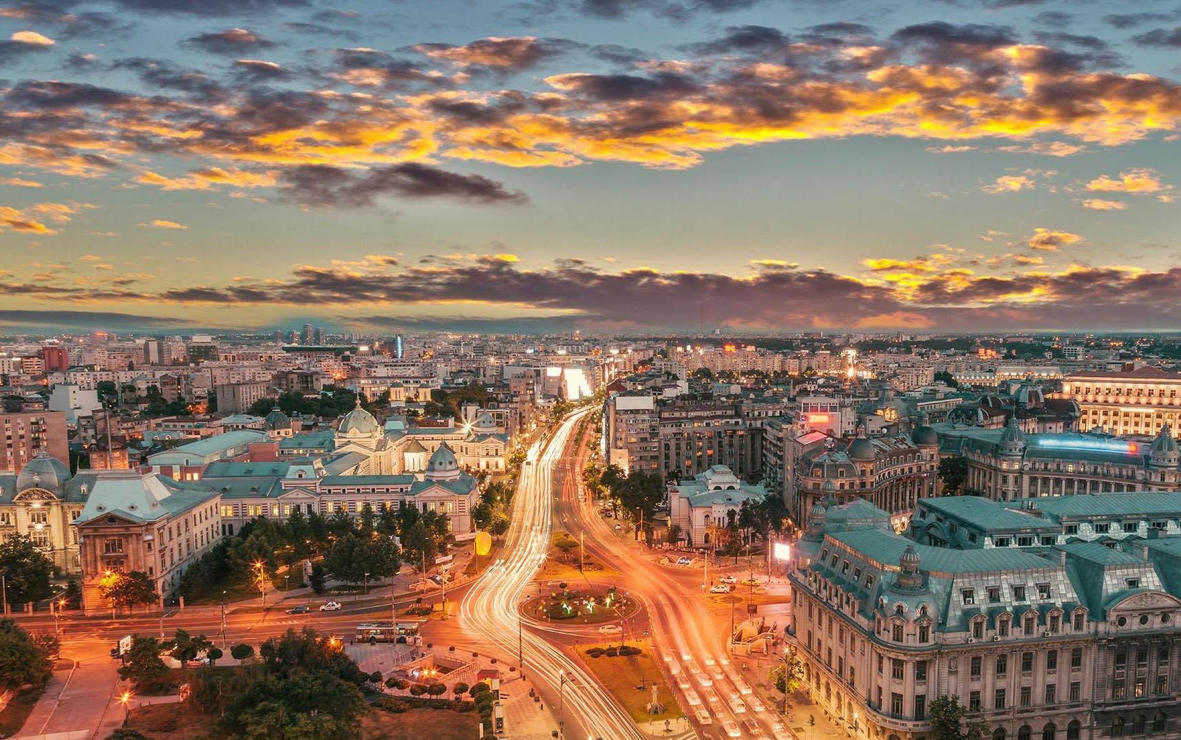 Transport to Romania